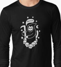 Cat Searching For Souls Long Sleeve T-Shirt