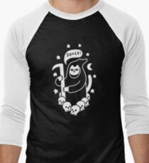 Cat Searching For Souls Baseball ¾ Sleeve T-Shirt