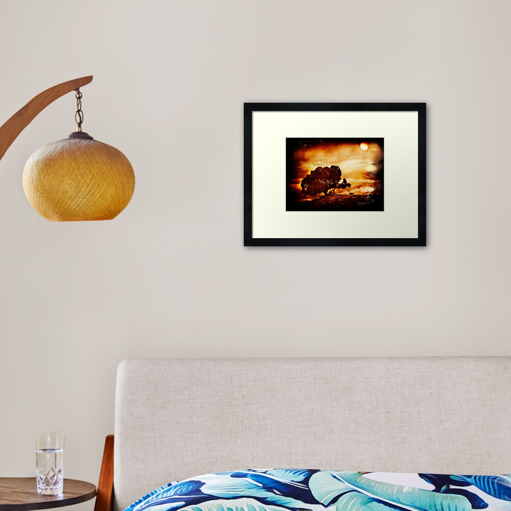 Bay of Fires, Tasmania Framed Art Print
