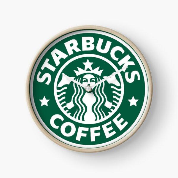 Starbucks Coffee Logo Clock