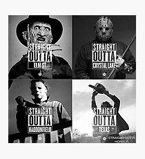 Horror Foursome Photographic Print