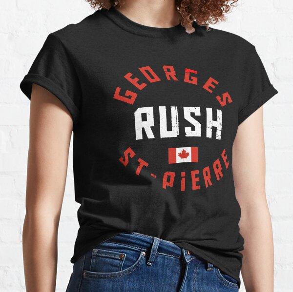 Georges St. Pierre Flag Classic T-Shirt