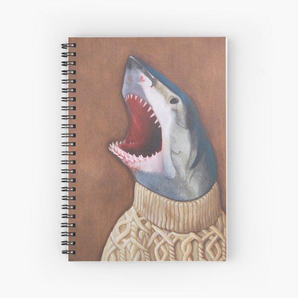 Shark in a Sweater Spiral Notebook