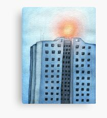 Hot Fuss Highrise Canvas Print
