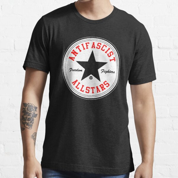 Anti fascista Camiseta esencial