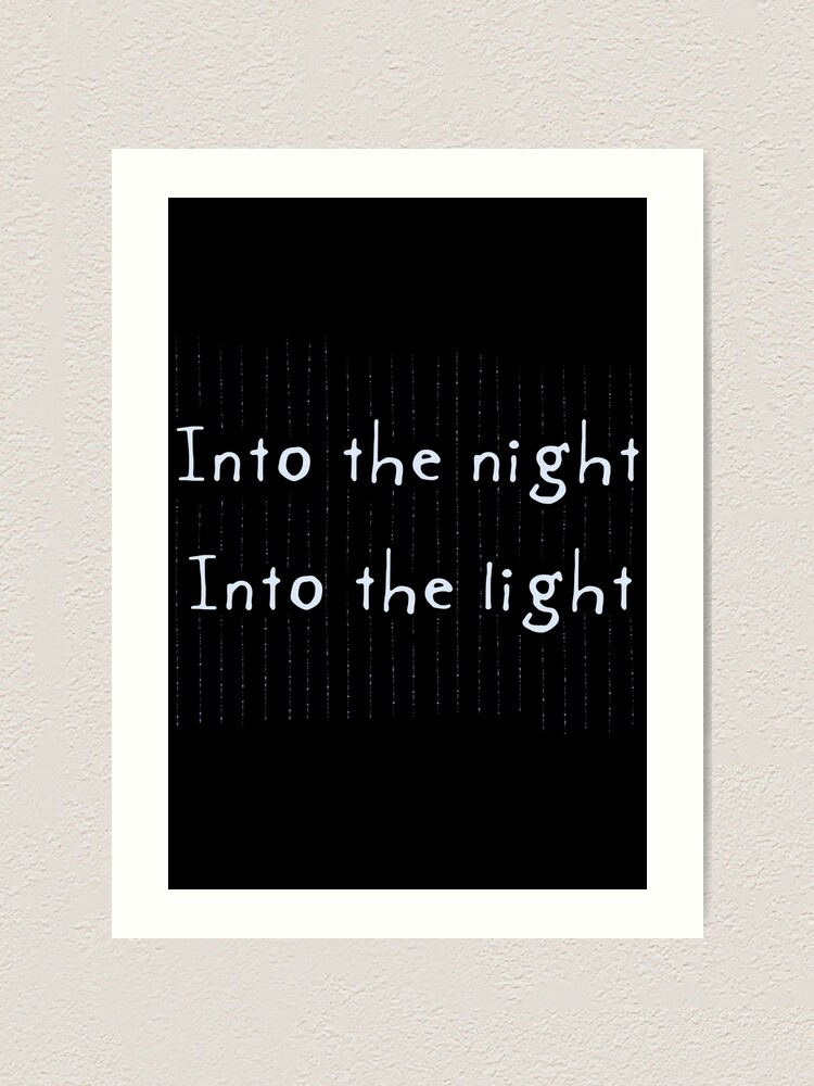 Alternate view of Into the Light Art Print