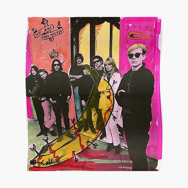 Andy Warhol and the Velvet Underground Poster