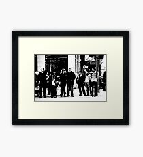 The Human Condition.. Framed Print