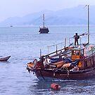 Fishing boats, Hong Kong waters, by johnrf