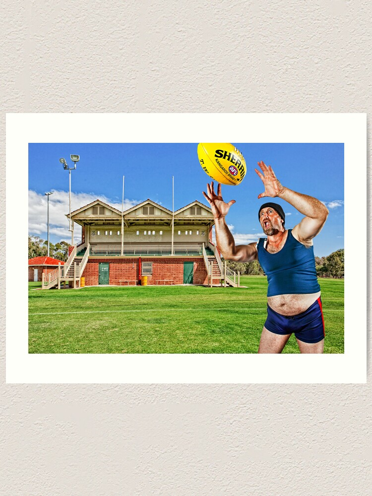 Alternate view of Mr March takes a Screamer! Art Print