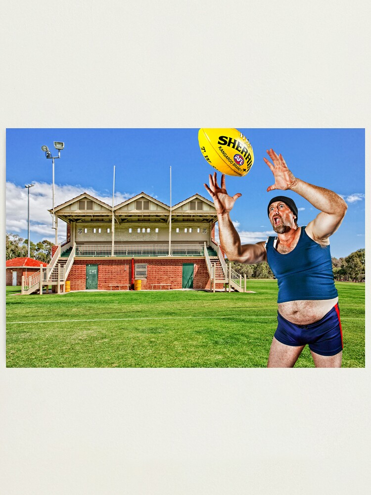 Alternate view of Mr March takes a Screamer! Photographic Print