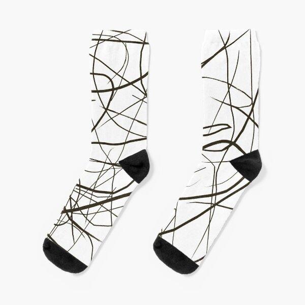 Line Art Socks