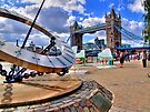 Sun Dial and Tower Bridge - London Festival - HDR by Colin  Williams Photography