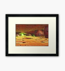 Glow in the Distance Framed Print