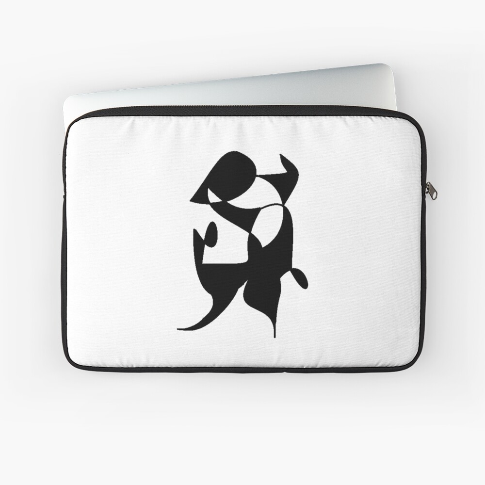 A Bull, Abstract (Designed by Just Stories) Laptop Sleeve