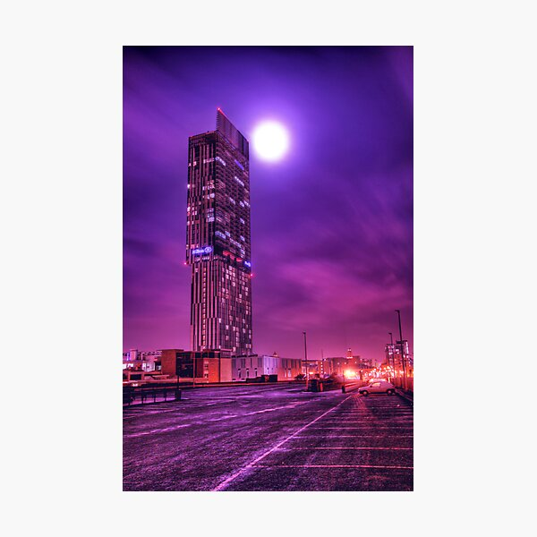 Moon Tower Photographic Print