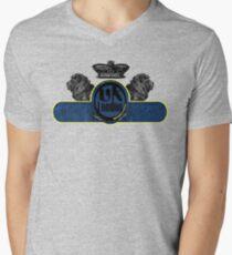 uk london by rogers bros Men's V-Neck T-Shirt