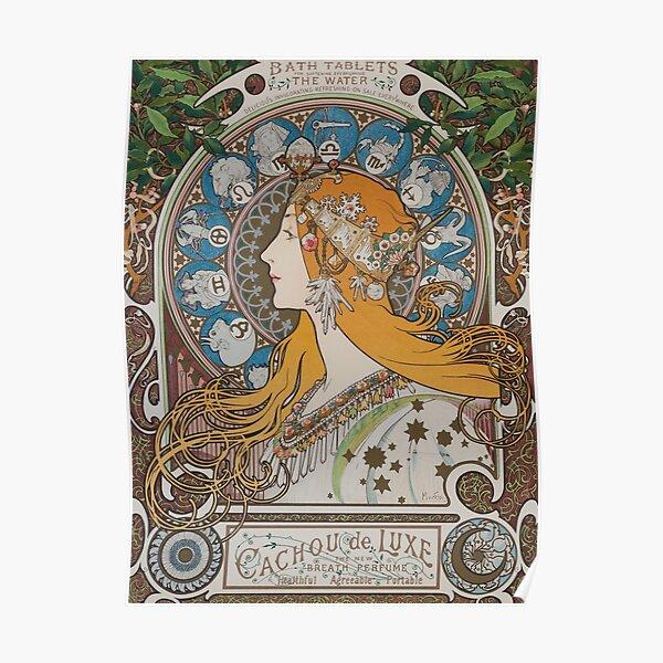 Zodiac, Mucha 1896 Poster