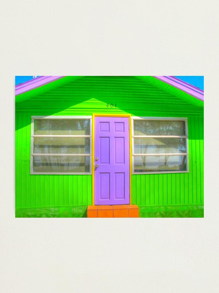 Alternate view of House, Bradenton Beach, 2011 Photographic Print