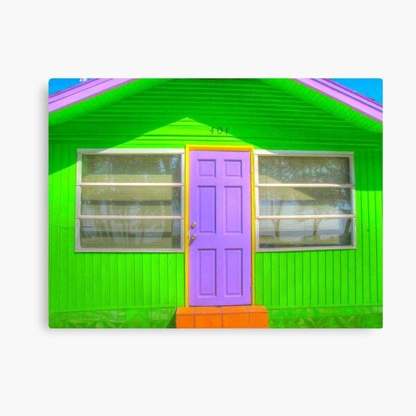 House, Bradenton Beach, 2011 Canvas Print