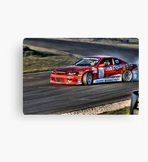 s15 drift car Canvas Print