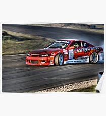 s15 drift car Poster