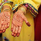 Mehendi in Udaipur by Valerie Rosen
