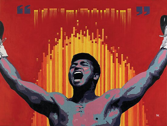 Muhammad Ali - Trust the Code by andrewoolery