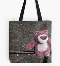lotso on the fence Tote Bag