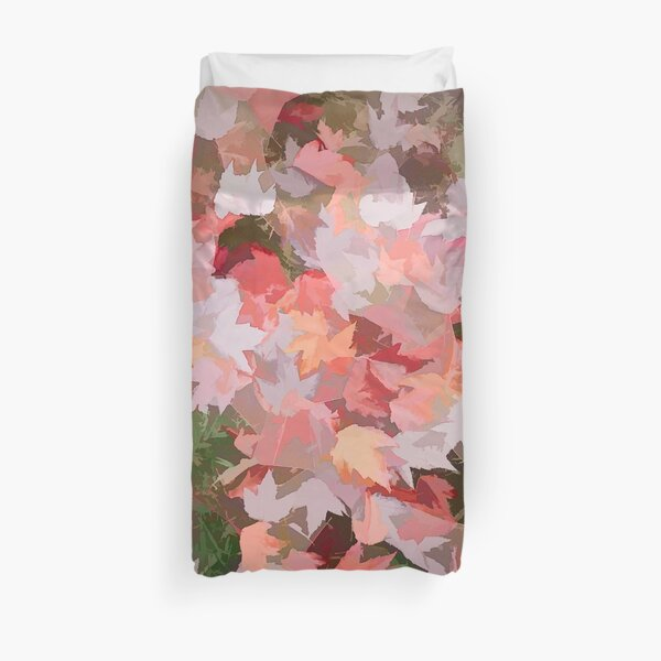 Autumn Colour (pale pastel multicolour) Duvet Cover