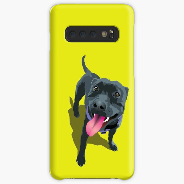Staffy Lime Samsung Galaxy Snap Case