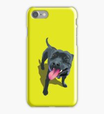 Staffy Lime iPhone Case/Skin