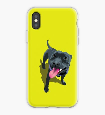Staffy Lime iPhone Case