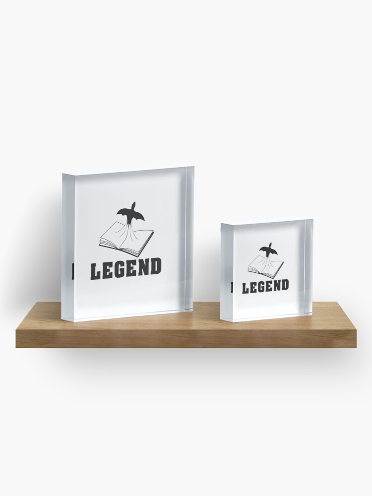 Alternate view of Legend Acrylic Block