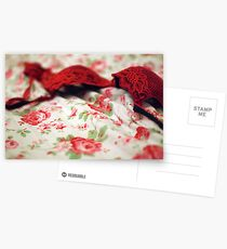 red bra Postcards