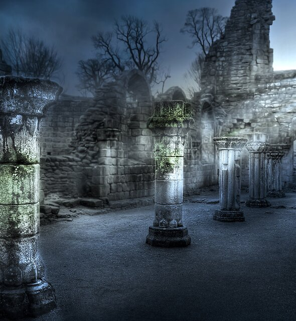 Ruins of Abbey by Svetlana Sewell