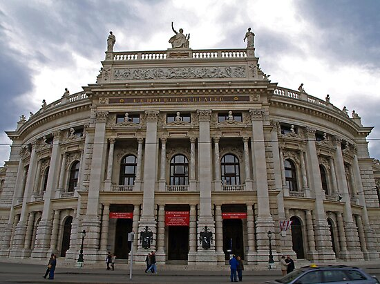 HOFBURGTHEATER by Lee d'Entremont