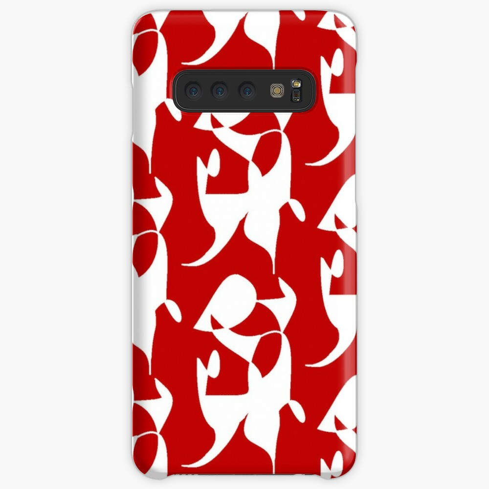 A Bull, Abstract (Designed by Just Stories) Case & Skin for Samsung Galaxy
