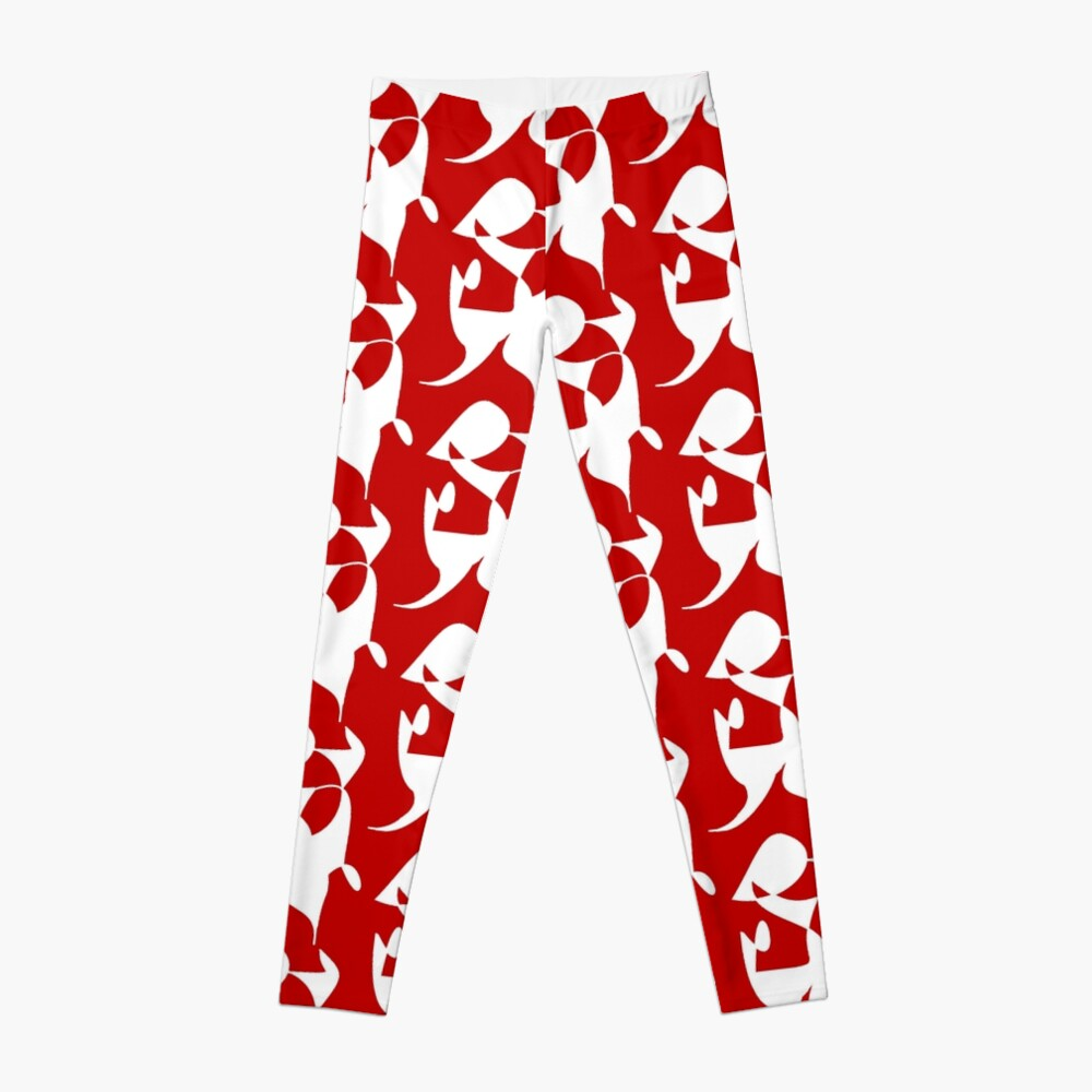 A Bull, Abstract (Designed by Just Stories) Leggings