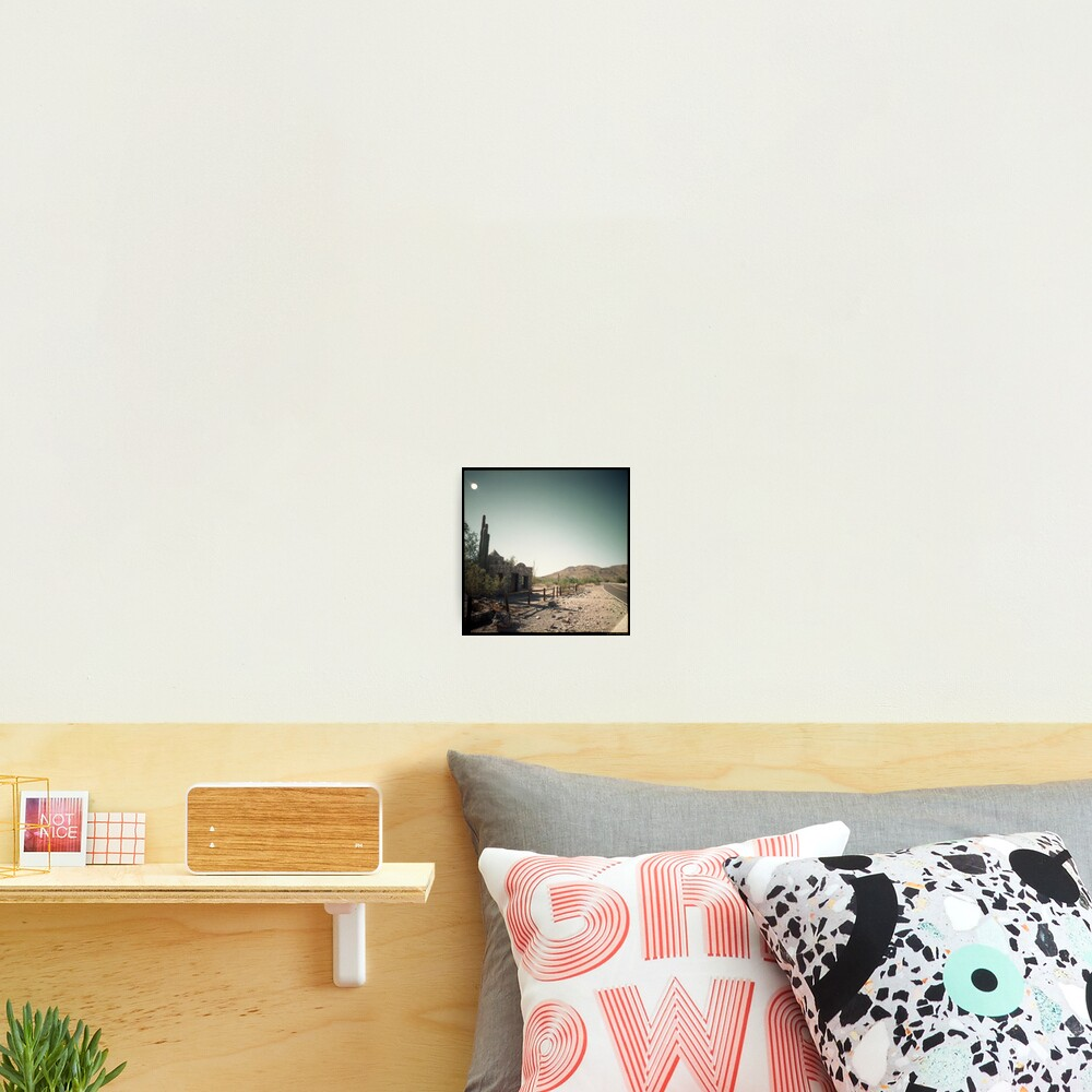 Seven Seconds to Impact Photographic Print