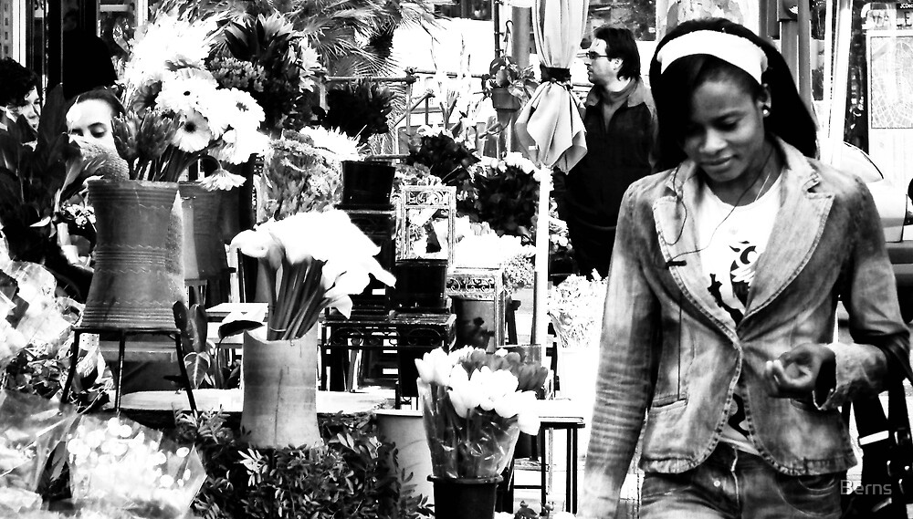 Faces and flowers.. by Berns