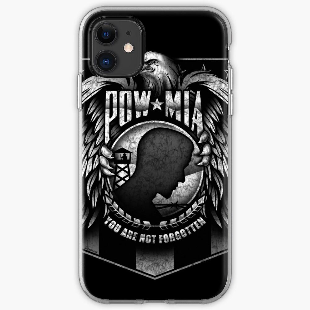 POW MIA iPhone Case & Cover