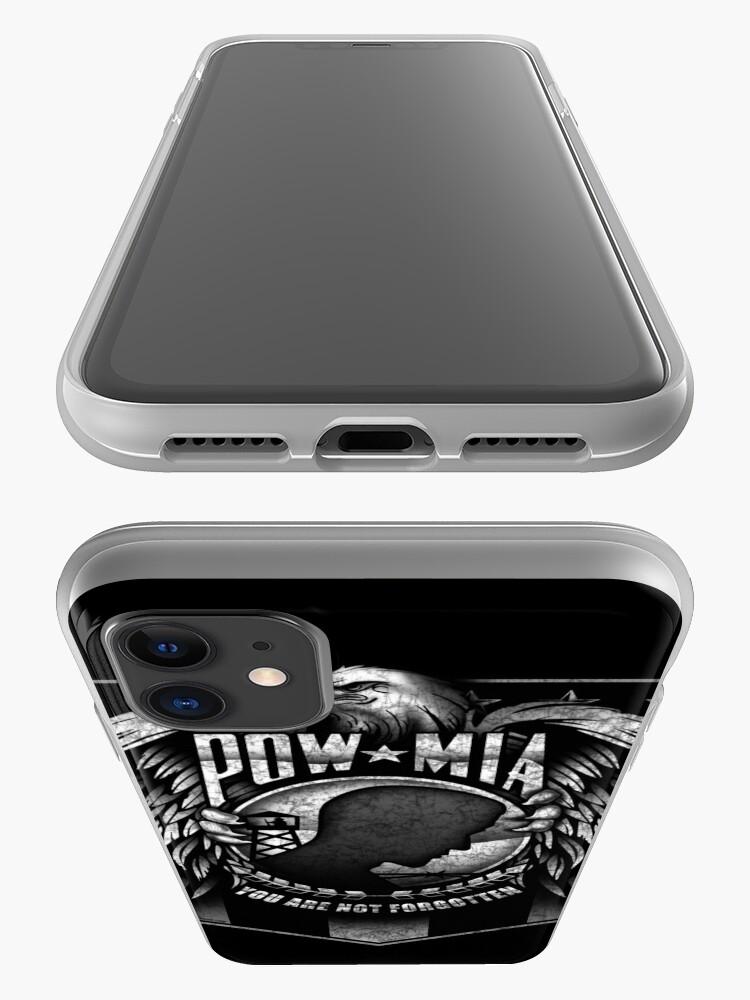 Alternate view of POW MIA iPhone Case & Cover
