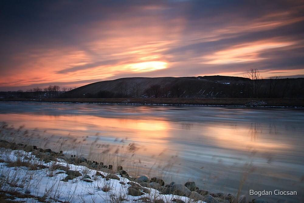 Beyond the sunset by Bogdan Ciocsan