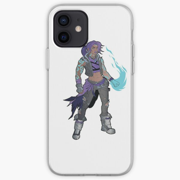 Amara The Siren Borderlands 3 The Tiger of Partali iPhone Soft Case