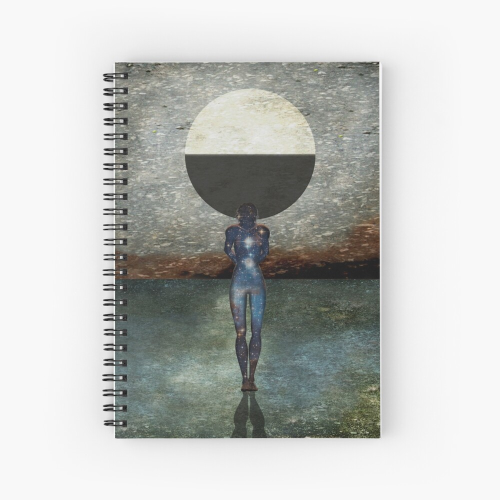 Second State Of Dreams (Last Quarter) Spiral Notebook