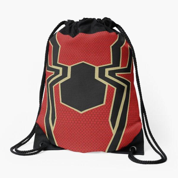 Iron Spider (Iron Spidey) Drawstring Bag