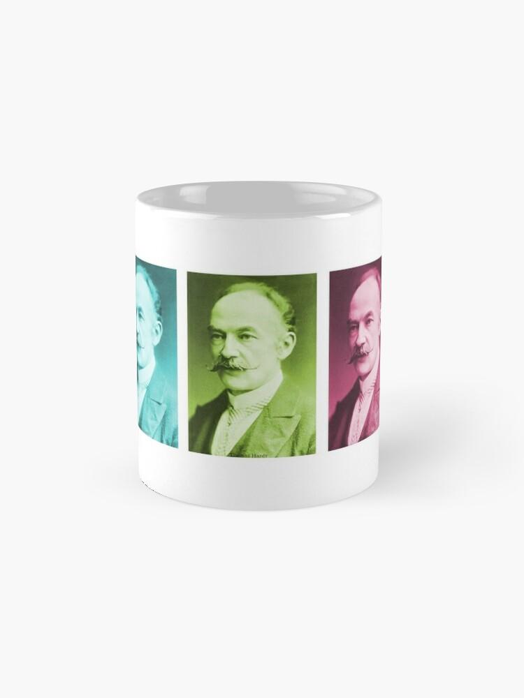 Alternate view of Thomas Hardy, English novelist and poet. Mug
