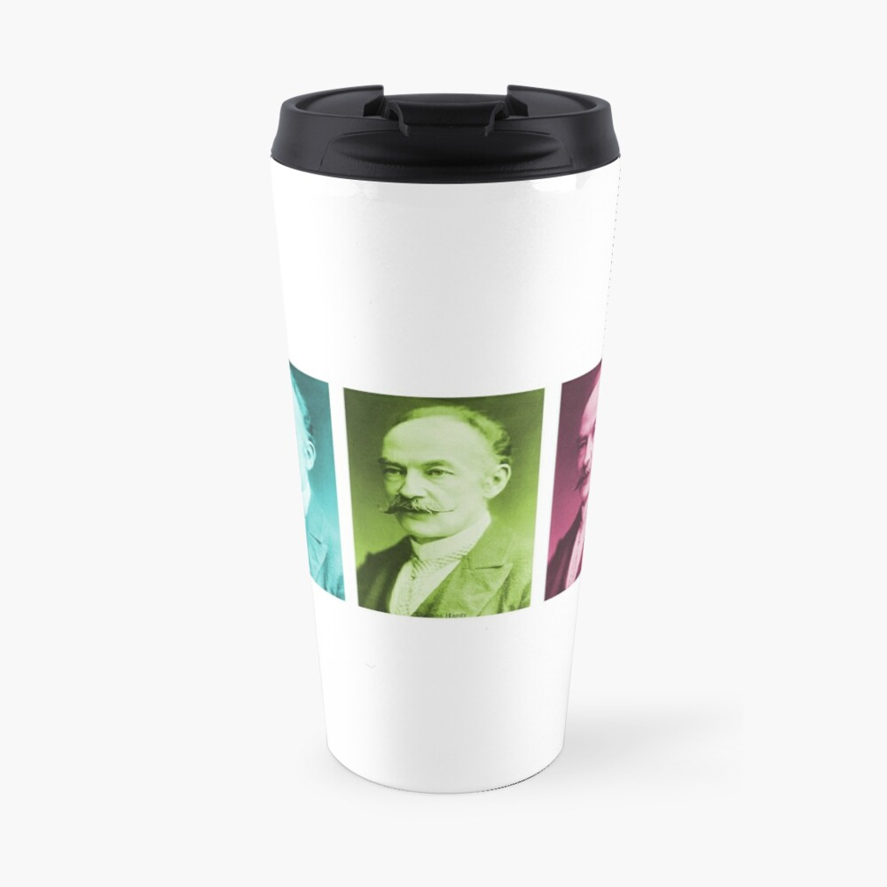 Thomas Hardy, English novelist and poet. Travel Mug