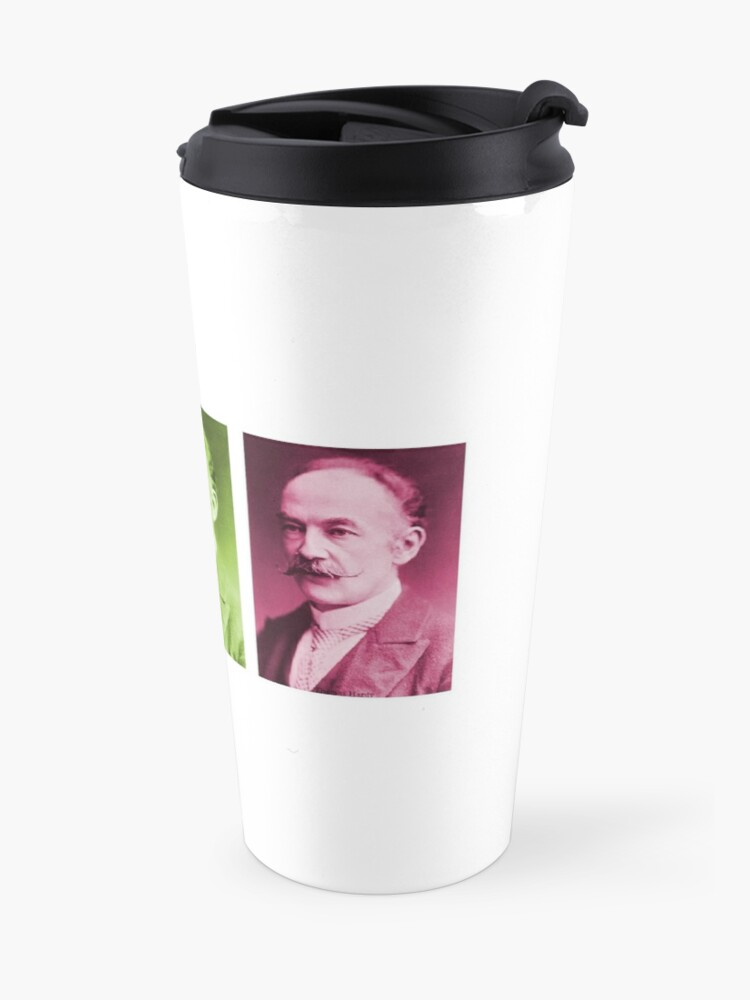Alternate view of Thomas Hardy, English novelist and poet. Travel Mug
